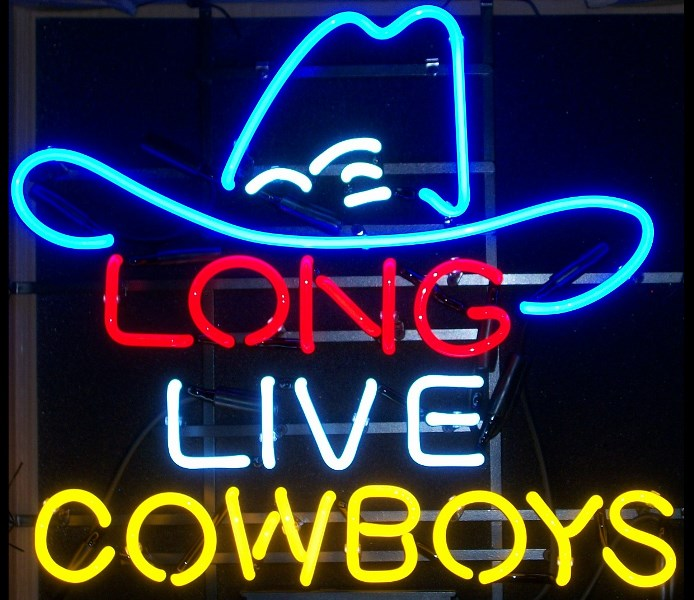 Neon AN-0048 Long Live Cowboys Neon Bar Sign   jBUYj.com