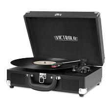 Innovative Technology VSC-550BT-BK Bluetooth Suitcase Turntable