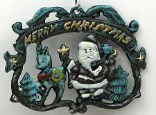 Merry Christmas Wall Plaque/Trivet 0170-13608