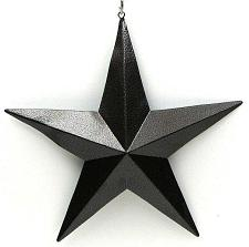 "7"" Brown Star Set of 6 0170-16006B"
