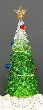 Acrylic Christmas Tree w/Led 0179-4444