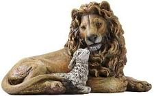 "8"" Lion & Lamb Figure 0182-35859"