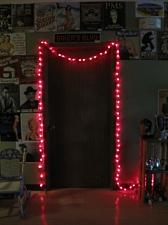 25ft Red Spun Tube Light String 1 Lights 0197-92709001