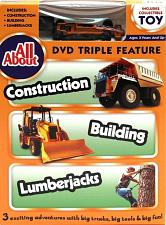 All About Construction-Building-Lumberjacks DVD w Collectible To