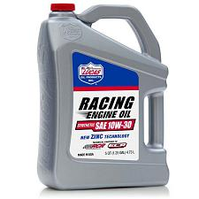 Lucas Oil Synthetic Sae 10W-30 Racing Motor Oil 5 Quart