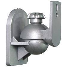 Cmple 1066-N Speaker Wall Mount for satellite speakers, Silver -