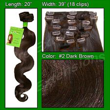 #2 Dark Brown - 20 inch Body Wave PRO-5003W