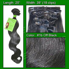 #1b Off Black - 20 inch Body Wave PRO-5002W