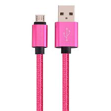 Cmple Micro Usb To Usb Braided Data Charging Cable - 3 Feet, Neo