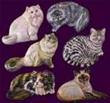 SMC Kitty Magnets, Set of 6