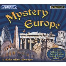 SelectSoft Publishing Mystery Europe:  A Hidden Object Adventure