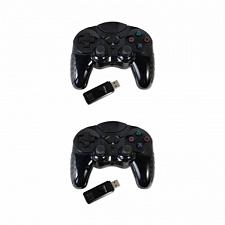 Kuma 2 Pack Of 2.4 Ghz Wireless Controller For Sony Playstation