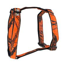 Mossy Oak Basic Dog Harness, Orange, Medium