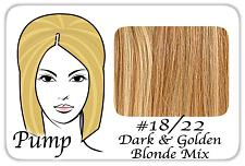 #18/22 Dark Blonde w/ Golden Highlights Pro Pump Pro-1202