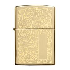 Zippo Windproof Lighter Venetian High Polish Brass (Venetian Bra