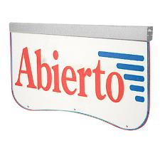Actiontec Actiontek Acrylic LED Sign, Abierto