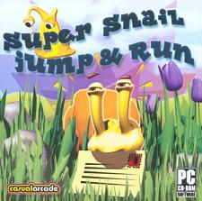 Casual Arcade Super Snail Jump & Run