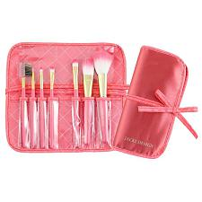 Jacki Design Vintage Allure 7 Pc Make Up Brush Set And Bag - Cor