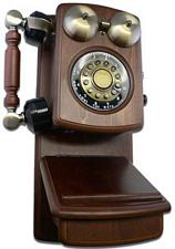 Golden Eagle 8705W Country Wood Phone Walnut