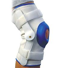 Alex Orthopedic Deluxe Compression Knee Support With Hinge - Med