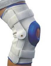 Alex Orthopedic Deluxe Compression Knee Support With Hinge - Lar