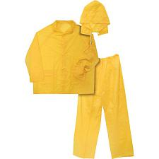Ironwear 3 Piece Economy Rainsuit Yellow 8236-Y, 3XL