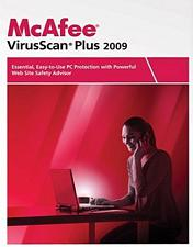 McAfee Network Associates McAfee VirusScan Plus 2009 - 3 User