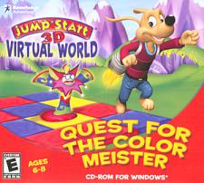 Knowledge Adventure JumpStart 3D Virtual World - Quest For The C