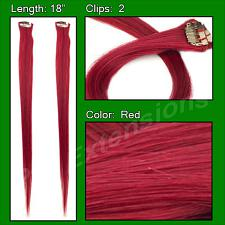(2 PCS) Red Highlight Streak Pack PRHL-2-RD