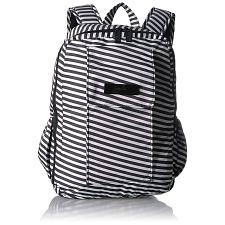 Ju-Ju-Be Onyx MiniBe Backpack Diaper Bag Day Bag Black Magic
