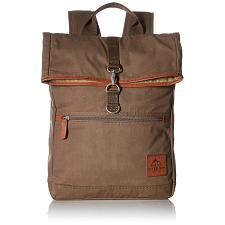Buxton Men's Expedition II Huntington Gear Fold-Over Canvas Back