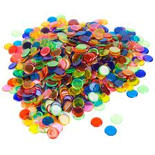 1000 Pack of Bingo Chips (Mixed)  Bulk Set of Markers GBIN-303