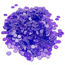 1000 Pack Purple Bingo Chips GBIN-305