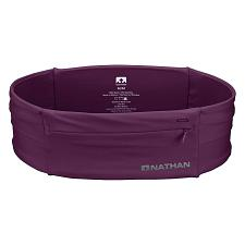 Nathan 7702 The Zipster Running Waist Belt - Amaranth (Large)