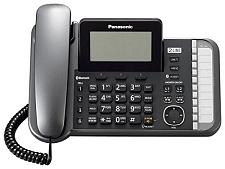 Panasonic Consumer TG9581B-TD 2 Line Corded Cordless, Link2Cell,