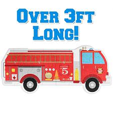 24 Piece Jumbo Fire Engine Floor Puzzle TPUZ-202