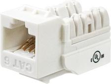 Wavenet 6EKSJWH-SPK Cat6 Jack White 25 Pack