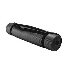 3/8-Inch (8mm) Professional Yoga Mat - Black SYOG-052