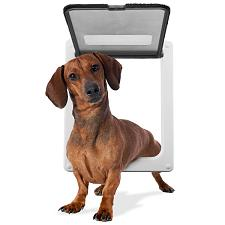 "Medium Breed Pet Door with 11"" x 9"" flap opening ADDR-001"