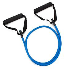 4' Blue Medium Tension (12 lb.) Exercise Resistance Band SRTB-00