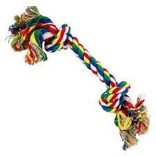 Cotton Flossin' Rope Bone Dog Toy ADTY-001