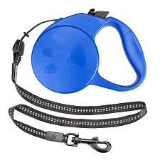 10-foot Blue Extra-Small Retractable Dog Leash ALSH-004