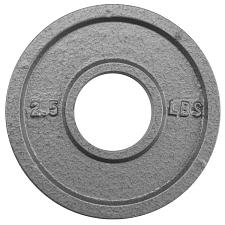 2.5lb Olympic Style Iron Weight Plate SWGT-501