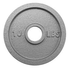 10lb Olympic Style Iron Weight Plate SWGT-503