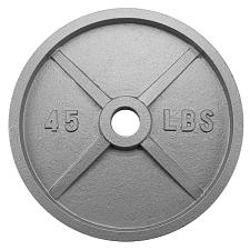 45lb Olympic Style Iron Weight Plate SWGT-506