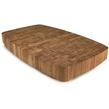 Dark Mocha Natural Bamboo Butcher Block KCUT-002