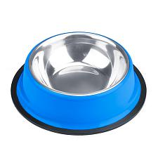 8oz. Blue Stainless Steel Dog Bowl ABWL-102