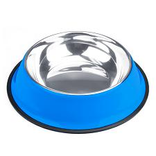 40oz. Blue Stainless Steel Dog Bowl ABWL-105