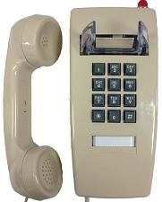 Cortelco 2554-VOE-27MD-ASH 255444V0E27Md Wall Phone W/Msg Light