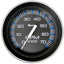 "Faria 4"" Tachometer (7000 RPM) (All Outboard) Coral w/Stainless"
